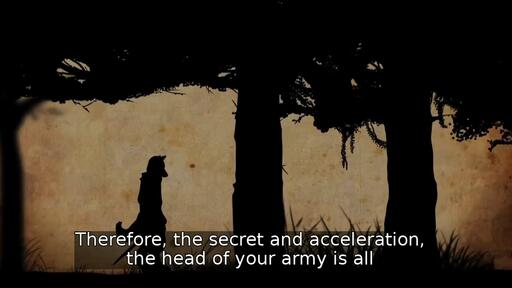 Therefore, the secret and acceleration, the head of your army is all
