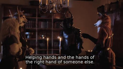 Helping hands and the hands of the right hand of someone else.