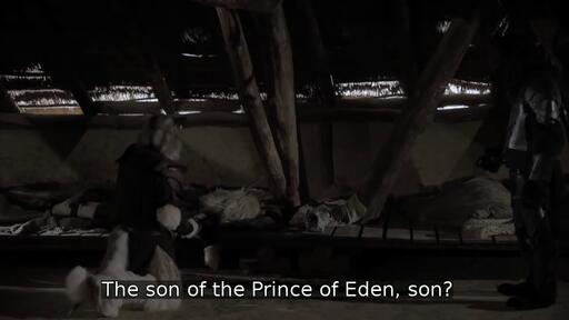 The son of the Prince of Eden, son?