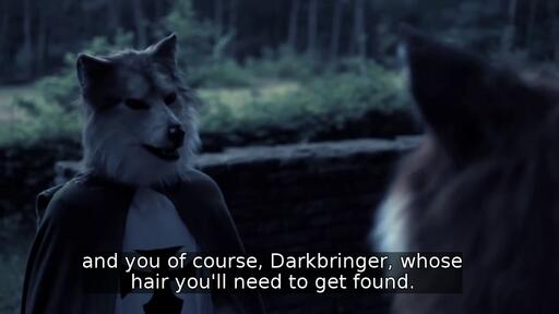 and you of course, Darkbringer, whose hair you'll need to get found.